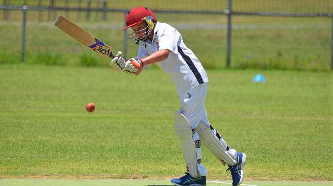 CLASS PLAYER: Greymare batsman Tom Doherty racks up the runs in Warwick cricket.