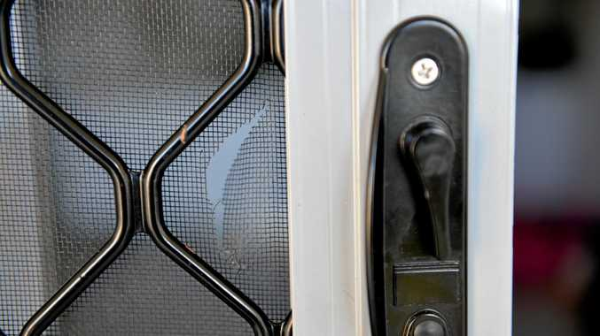 A house and seven cars have been broken into overnight.