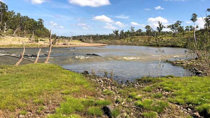 FUTURE SITE: Rookwood Weir will emerge at this site in 2019 if all goes according to plan.