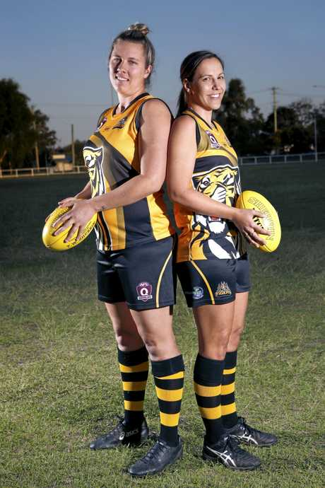TOP TIGERS: The Tweed Tigers are blessed with skippers Eleanor Crawley and Rachel Kelly.