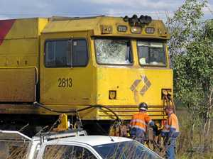 Train couldn't stop in time to avoid devastating crash