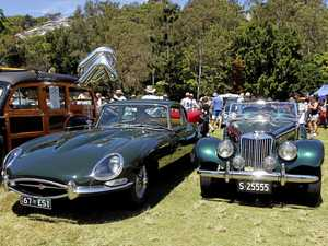 Celebrating classic cars at Noosa