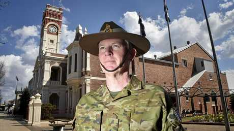 Coordinator General of the Joint Agency Drought Taskforce, Major General Stephen Day. September 2018