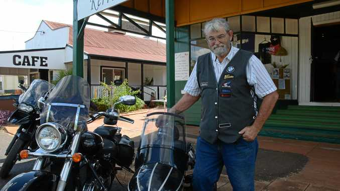 Lynnsay Fryer is organising a bike rally in Wooroolin and he's keen to spread the word.