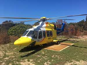 WATCH: Tourist airlifted from Fraser Island