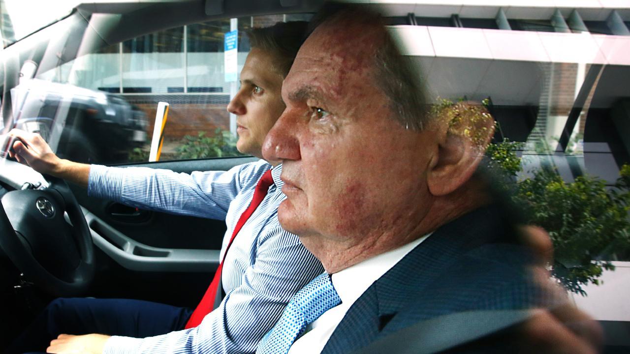 Former Ipswich mayor Paul Pisasale attends court last year.