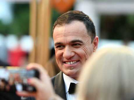 Singer Shannon Noll arrives at the 2018 Logie Awards. Picture: AAP/Dan Peled