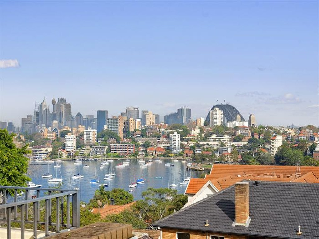 Developers want to take advantage of these views of Sydney that are on offer at 85 Kurraba Rd.
