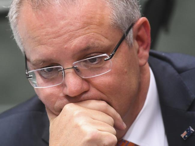 Prime Minister Scott Morrison wanted a woman in the job. Picture: Lukas Coch/AAP