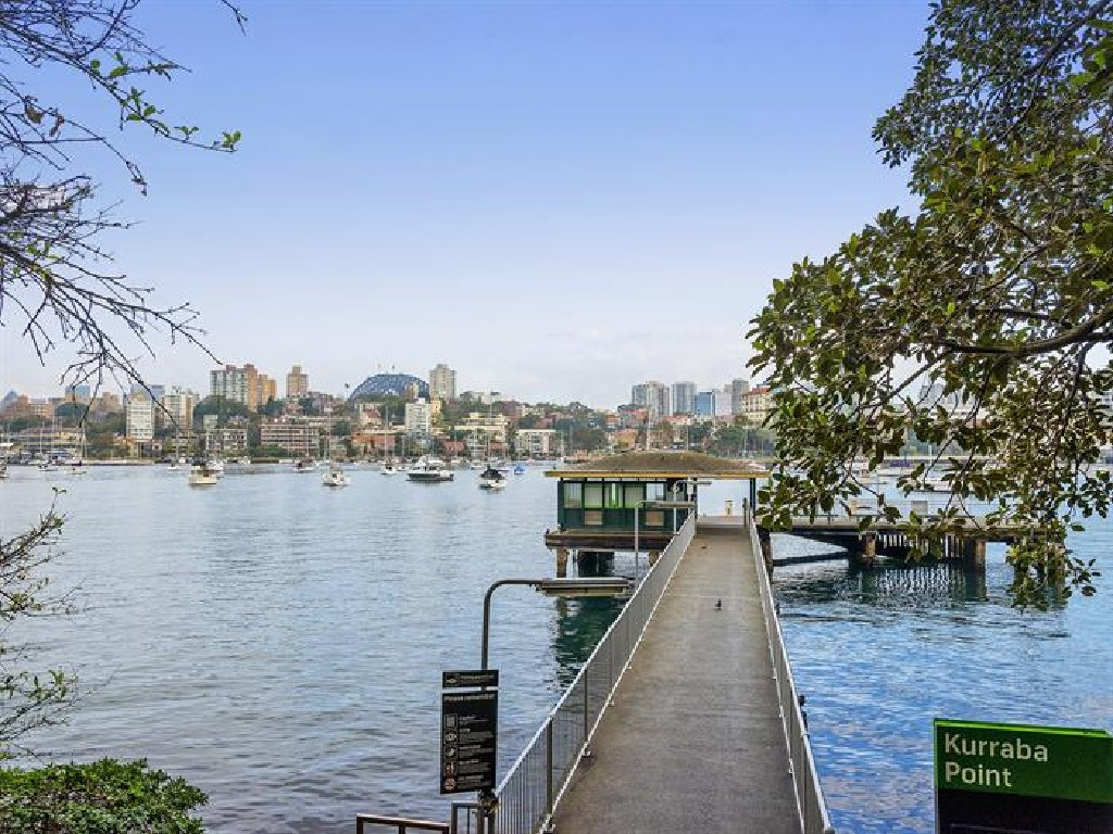 Kurraba Point Wharf is just a couple of minutes walk from the development site.