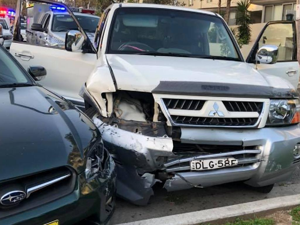 A woman will face court after several vehicles, including a police car were rammed and a police officer was injured during an incident at Sutherland.
