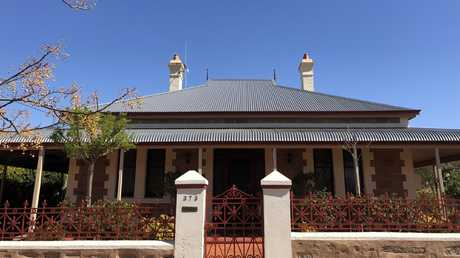 This period property in Broken Hill was sold for $390,000, half the average price of a Sydney house. Picture: Benedict Brook