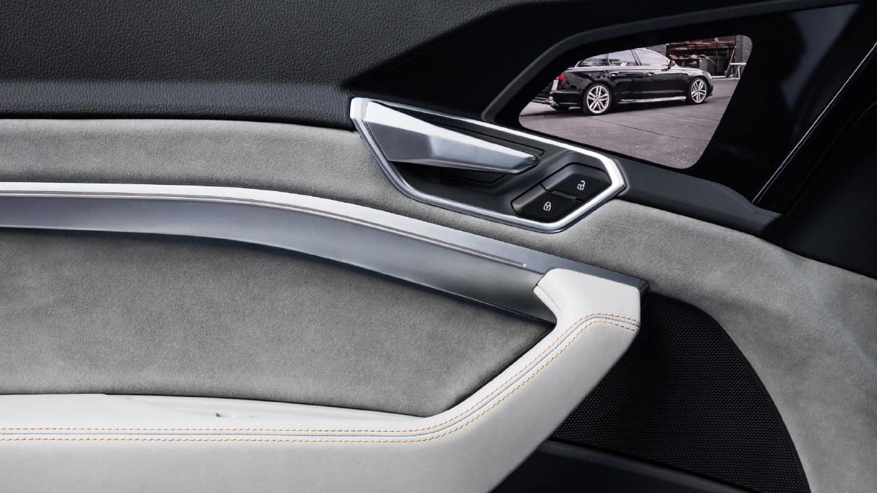 Screens will replace side mirrors on the new Audi e-tron.