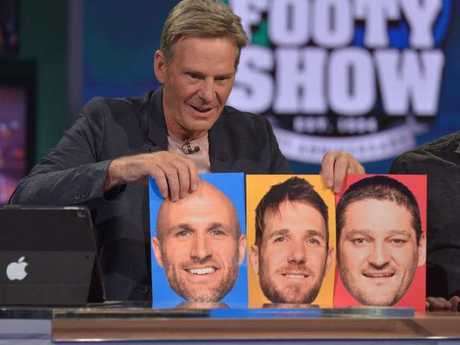 Sam Newman on The Footy Show.