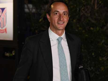 Dave Sharma will replace Mr Turnbull as the Liberal's candidate for Wentworth. Picture: Brendan Esposito/AAP
