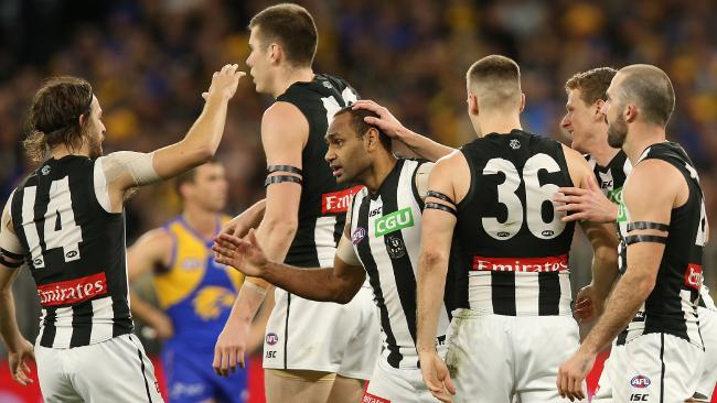 There is more harmony at the Magpies. Picture: Getty Images