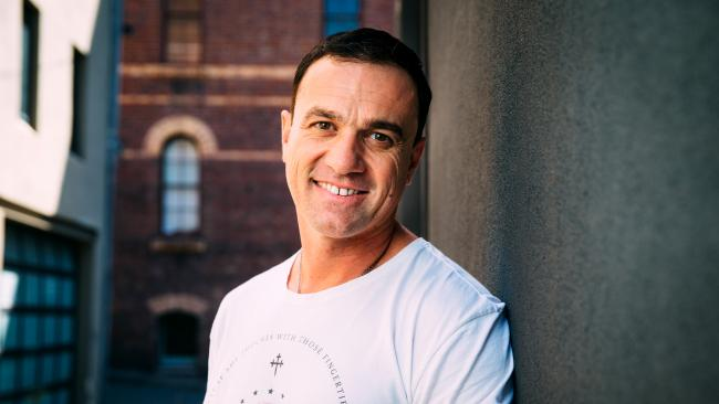 Shannon Noll was reportedly charged after a dog squad search at a south Sydney hotel. Picture: Jonathan Ng
