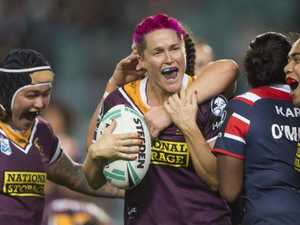 Broncos charge towards NRLW grand final