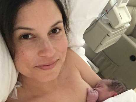 Missy Higgins will be back on the road after Luna's birth. Picture: Instagram.