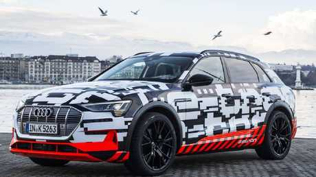 The Audi e-tron prototype will be shown in production form on September 17.