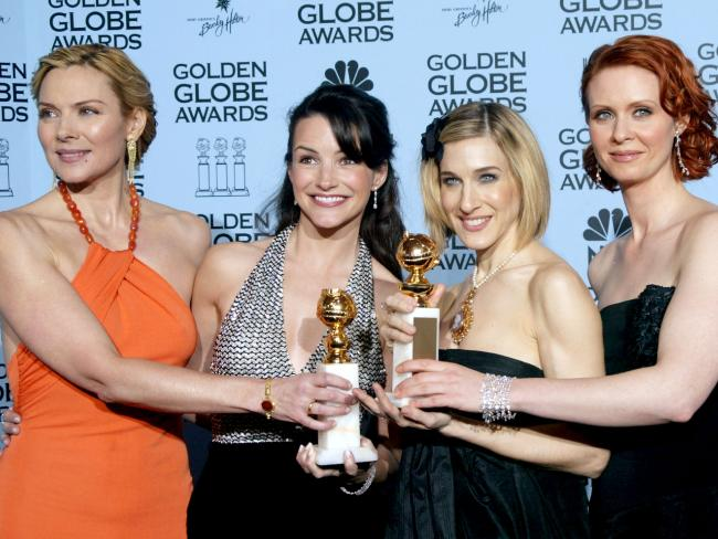 Kristin Davis and Sarah Jessica Parker have endorsed Cynthia Nixon for governor, while Kim Cattrell said she supported Nixon in whatever she wants to do. Picture: Getty