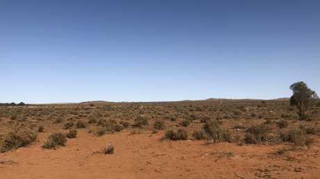 You don't have to roam far from Broken Hill to get to the desert.