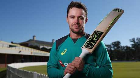 Travis Head poses for a portrait before the Australia A tour of India. He has been named in his first Test squad to take on Pakistan in the UAE. Picture: Chris Hyde/Getty Images