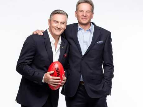 The Footy Show duo will consider their legal options.