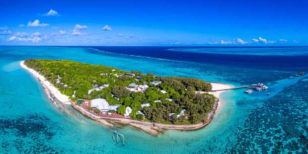 ISLAND JEWEL: Aldesta Hotel Group has upgraded the facilities   at Heron Island Resort since purchasing it in February, 2017, and has plans to revamp Wilson Island.