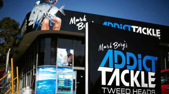 Mark Berg's Fishing store