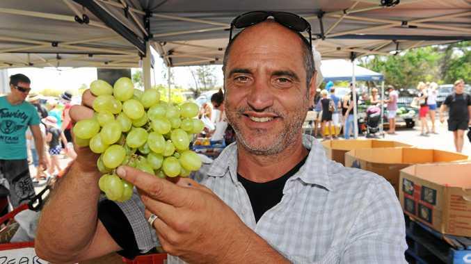 Shalom Markets coordinator Peter Barone.