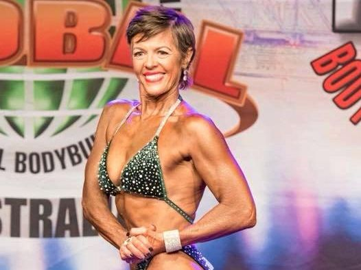 FIT FOR LIFE: Deb Brown is the fittest she's ever been and she is about to celebrate her 56th birthday this month.