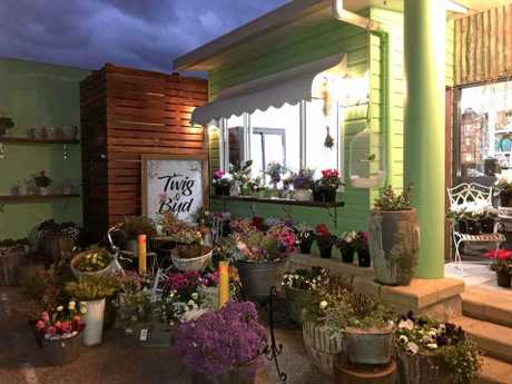 Twig and Bud florist opened at Warwick's Gardens Galore on the first day of spring.