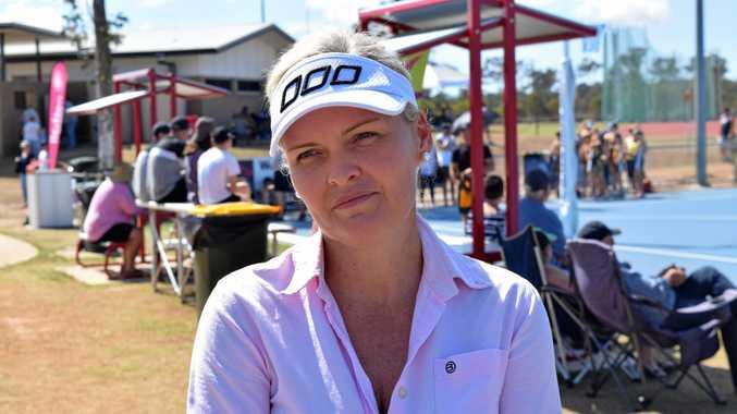 Netball Queensland CEO Catherine Clark.