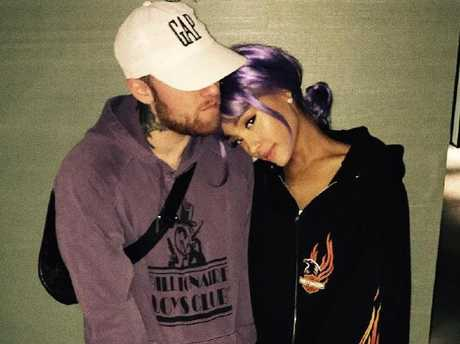 Mac and Ariana. Picture: Instagram
