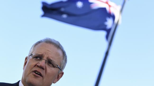 Australian Prime Minister Scott Morrison. Picture: AAP Image/Lukas Coch