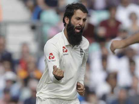 Moeen Ali has teed off on Australia's on-field behaviour in his autobiography. Picture: AP