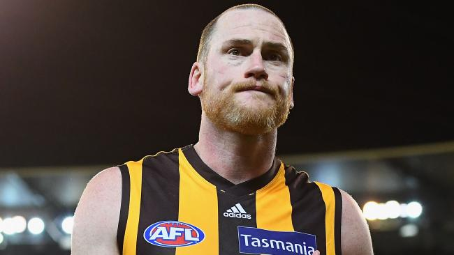 Alastair Clarkson says Jarryd Roughead will be back at Hawthorn in 2019. Picture: Getty Images