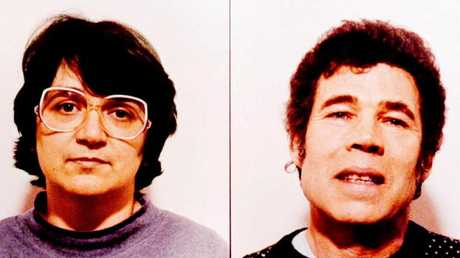 Notorious British serial killers, Rosemary and Fred West.