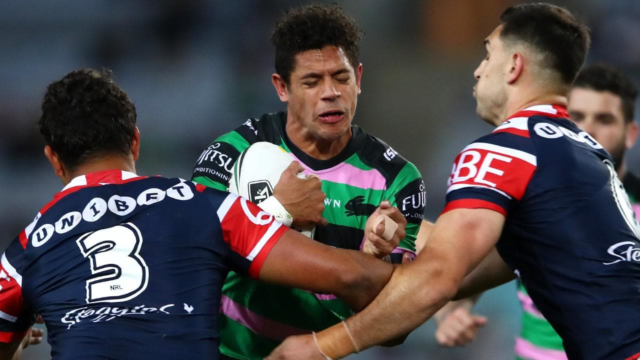 The Rabbitohs will play the Roosters for a spot in the grand final.