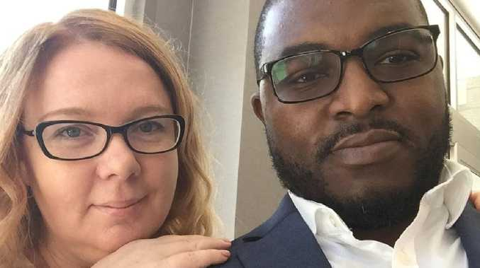 Australian Lisa Cunningham and her American husband Germayne have both been charged with the first-degree murder of their daughter Sanaa. Picture: Supplied