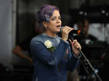 Lily Allen said she slept with sex workers on tour. Picture: Dan Kitwood/Getty Images
