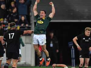 Bedlam after All Blacks stunned