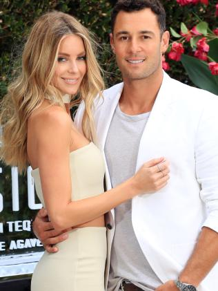 Jen Hawkins and Jake Wall's Sesion tequila Official Launch at Point Piper. Picture: Christian Gilles