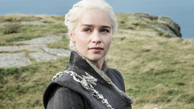 Game of Thrones star Emilia Clarke as Khaleesi.