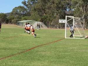 Tahnee Moynahan's great goal