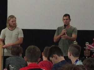 Luke Hodge's presentation