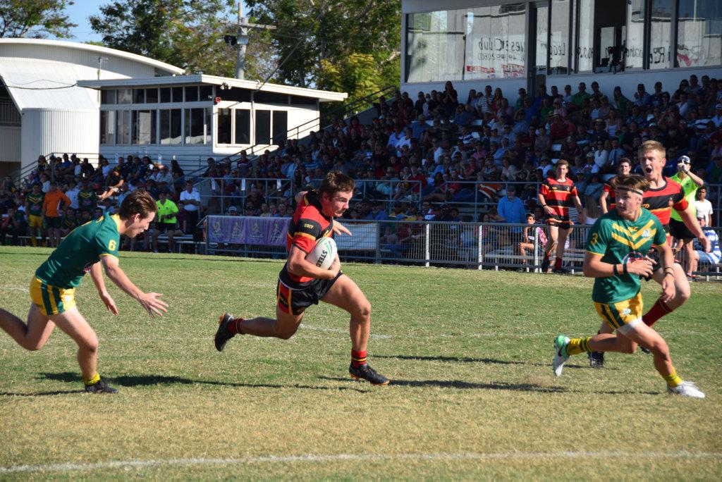 Rockhampton Grammar School S A Grade Rugby League Player Jacob Spark Buy Photos Online Gatton Star