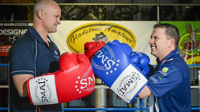 Glenn Butcher and  Matt Burnett will face off in a charity boxing match on Saturday.