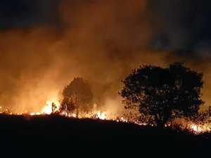 PHOTOS: Bushfire threatened multiple structures